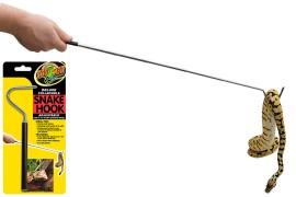 Крючок для змей (телескопический) - Zoo Med Deluxe Collapsible Snake Hook - арт.: TA-25E