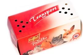 Картонная транспортная коробка для животных - Vitapol - 27 x 13 x 12 см - арт.: ZVP-4901
