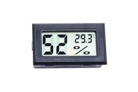 Термогигрометр цифровой (черный)