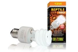 Лампа с УФ для пустынных террариумов - Exo-Terra Reptile UVB150 (ex. Repti Glo 10.0) - 13 Вт - арт.: PT2188