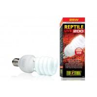 Лампа с УФ для пустынных террариумов - Exo-Terra Reptile UVB200 - 25 Вт - арт.: PT2341
