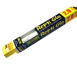 Люминесцентная лампа с УФ - Exo-Terra Repti Glo 2.0 - 20 Вт / 60 см / T8 - арт.: PT2151