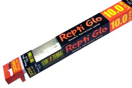 Люминесцентная лампа с УФ - Exo-Terra Repti Glo 10.0 - 30 Вт / 90 см / T8 - арт.: PT2173