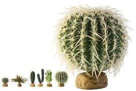 Растение иск. - Exo-Terra Desert Ground Plants - Barrel Cactus - Medium - арт.: PT2985