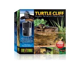 Черепашья скала с фильтром для воды - Exo-Terra Turtle-Cliff - Medium - арт.: PT3650