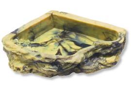 Кормушка-поилка угловая - JBL ReptilBar M - 13,5 x 13,5 x 3,5 см - арт.: 7106100