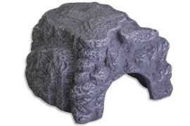 Пещера-укрытие для рептилий - JBL ReptilCava Grey XL - 23 x 20 x 10 см - серая - арт.: 7109000