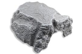 Пещера-укрытие для рептилий - JBL ReptilCava Grey M - 16 x 13,5 x 10 см - серая - арт.: 7108900