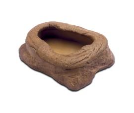 Кормушка-камень для подвижного корма - Exo-Terra Mealworm Feeder - арт.: PT2816
