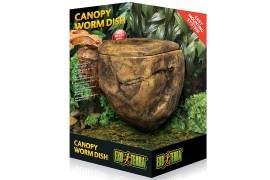 Кормушка-камень настенная - Exo-Terra Canopy Worm Dish - арт.: PT2825
