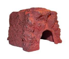 Пещера-укрытие для рептилий - JBL ReptilCava Red M - 16 x 13,5 x 10 см - красная - арт.: 7109300