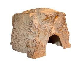 Пещера-укрытие для рептилий - JBL ReptilCava Sand M - 16 x 13,5 x 10 см - песочная - арт.: 7109700