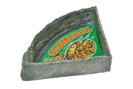 Поилка угловая - Zoo Med Repti Rock Corner Bowl - size X-Large - арт.: KB-50