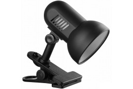 Светильник на прищепке - Camelion Light Solution H-035 / Е27 - Макс. 60 Вт (черный) - арт.: AU-105