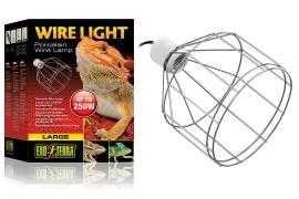Проволочный навесной светильник - Exo-Terra Wire Light - до 250 Вт - арт.: PT2062