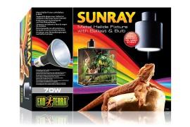 "Светильник ""Лучик солнца"" - Exo-Terra Sunray Fixture with Ballast & Bulb - 70 Вт - арт.: PT2325"