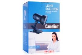Светильник на прищепке - Camelion Light Solution H-035 / Е27 - Макс. 60 Вт (черный) - арт.: AU-0105