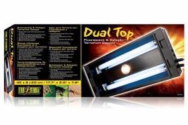 Светильник для террариумов Exo-Terra - Exo-Terra Dual Top Small - арт.: PT2230