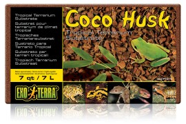 Кокосовая стружка - Exo-Terra Coco Husk (brick) - 7 л - арт.: PT2775