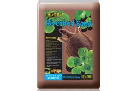 Песок речной для террариума - Exo-Terra Riverbed Sand - 4,5 кг - коричневый - арт.: PT3107