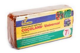 Кокосовая крошка - Cocoland Universal - 7 л. (брикет) - арт.: LM-243