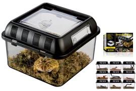 Пластиковый террариум для разведения - Exo-Terra Breeding Box (Small) - 205 x 205 x 140 мм - арт.: PT2270
