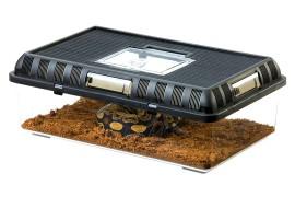 Пластиковый террариум для разведения - Exo-Terra Breeding Box (Large) - 415 x 265 x 148 мм - арт.: PT2280