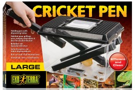 Пластиковый контейнер для живого корма - Exo-Terra Cricket Pen (Large) - 30 x 20,5 x 19,5 см - арт.: PT2287