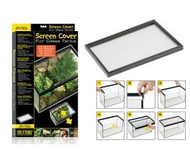 Сетчатая крышка для аквариумов и террариумов - Exo-Terra Screen Cover - 35 x 60 см - арт.: PT2673