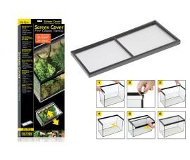 Сетчатая крышка для аквариумов и террариумов - Exo-Terra Screen Cover - 30 x 80 см - арт.: PT2674