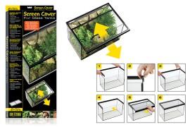 Сетчатая крышка для стеклянных аквариумов и террариумов - Exo-Terra Screen Cover - 35 x 80 см - арт.: PT2675