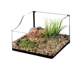 Террариум стеклянный для черепах - Exo-Terra Turtle Terrarium - 45 x 45 x 20/30 см (Small) - арт.: PT3746