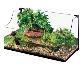 Террариум стеклянный для черепах - Exo-Terra Turtle Terrarium - 90 x 45 x 30/45 см (Large) - арт.: PT3748