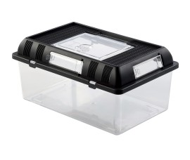 Пластиковый террариум для разведения - Exo-Terra Breeding Box (Medium) - 302 х 196 х 147 мм - арт.: PT2275