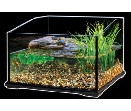 Террариум стеклянный для черепах - Exo-Terra Turtle Terrarium - 45 x 45 x 30 cm - Item No: PT3745