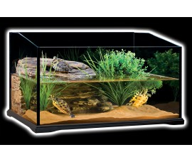 Террариум стеклянный для черепах - Exo-Terra Turtle Terrarium - 60 x 45 x 35 см - арт.: PT3750