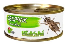 Корм консервированный Bukahi - Сверчок домовый - 40 г