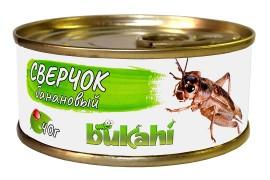 Корм консервированный Bukahi - Сверчок банановый - 40 г