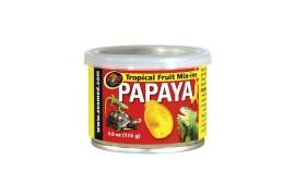 Тропический микс (папая) - Zoo Med Tropical Fruit Mix-ins Papaya - 113 г - арт.: ZM-151E