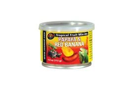 Тропический микс (папая и красный банан) - Zoo Med Tropical Fruit Mix-ins Papaya & Red Banana - 113 г - арт.: ZM-154E