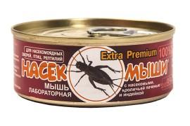 Корм консервированный Насекомыши - Мышь лабораторная с насекомыми, кроличьей печенью и индейкой / 95 г - арт.: 1245