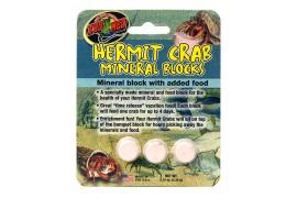 Минеральный блок для раков-отшельников - Zoo Med Hermit Crab Mineral Blocks - 3 шт. в уп. - арт.: HC-62