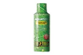 Средство для подготовки воды в акватеррариумах - Exo-Terra Aquatize - 120 мл - арт.: PT1979