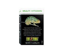 Мультивитаминный комплекс (порошок) - Exo-Terra Multi Vitamin - 30 г - арт.: PT1860