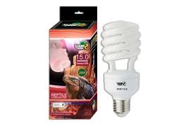 Лампа с УФ для пустынных террариумов - Lucky Herp UVB 15.0 - 13 Вт