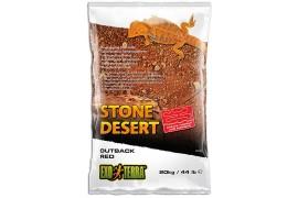 Почва пустыни с глиной - Exo-Terra Outback Red Stone Desert - красная, 20 кг