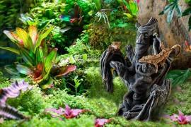 Декорация с духом Тики - Exo-Terra Tiki Totem - Small, 21 x 17 x 27 см