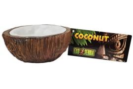 Поилка в виде кокоса - Exo-Terra Cocount Water Dish - 10 x 5 см