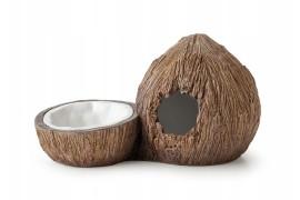 Exo-Terra Cocount Hide Поилка и укрытие в виде кокосов