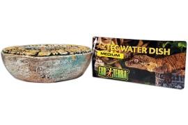 Кормушка-поилка - Exo-Terra Aztec Water Dish - Medium, 13 x 3,5 см